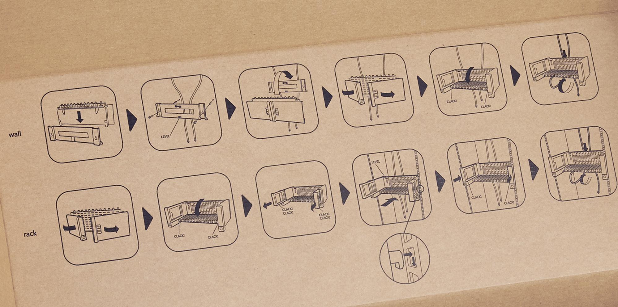 ikusiflow packaging instructions